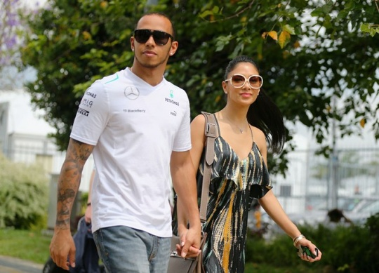 Hamilton Back With Nicole Scherzinger