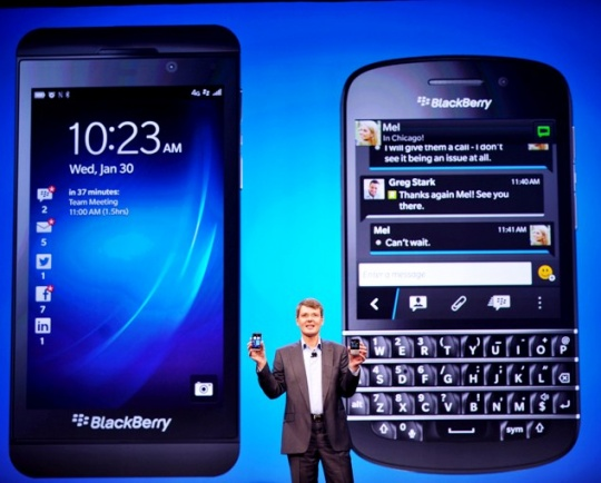 Mega-Millions Payout for Blackberry Chief?