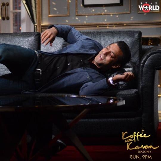 Salman Khan on Koffee With Karan