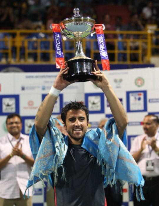 Janko Tipsarevic won the Chennai Open in 2013. (AFP)