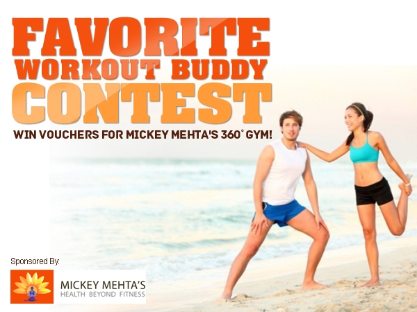 Winner Announcement: Favorite Workout Buddy Contest