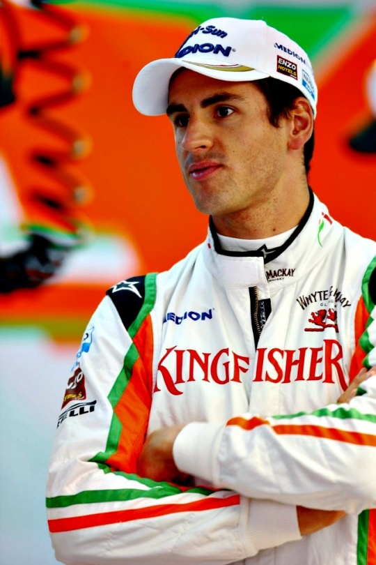 Adrian Sutil Takes Force India's 2nd Seat?