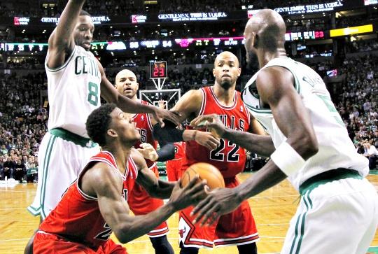 Celtics Beat Bulls in Defensive Struggle
