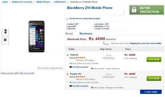 blackberry z10 tradus