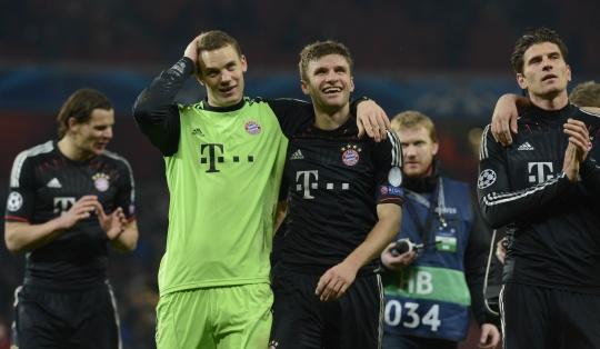 Bayern Blacken Arsenal's Nightmare