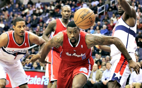 Griffin Hurt as Clippers Fall to Wizards