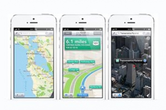 iPhone Google Maps vs Android Version