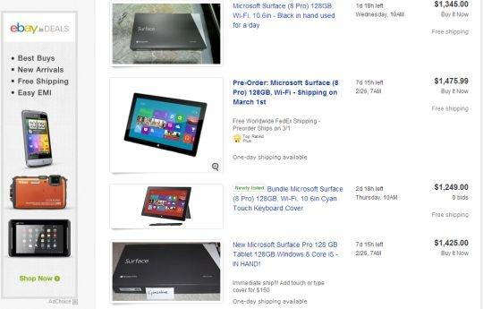microsoft ebay