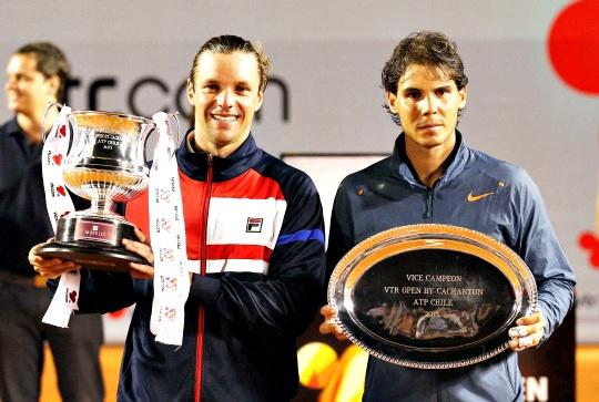 Nadal Denied Title in Comeback Tourney