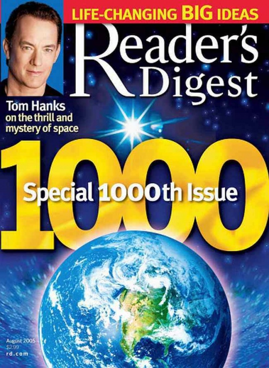 Reader's Digest Files for Bankruptcy!