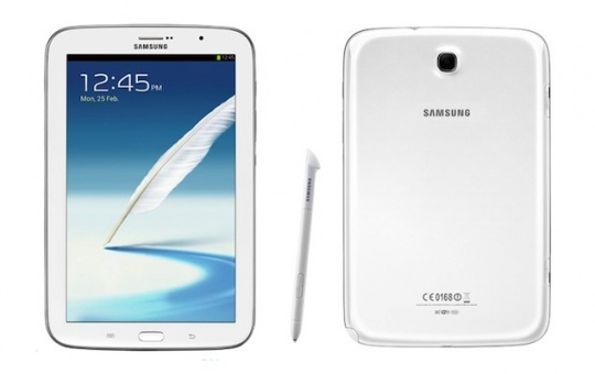 Samsung Launches Galaxy Note 8.0 Tablet With Android 4.1
