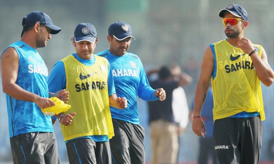 Mahendra Singh Dhoni Happy with Team Combination