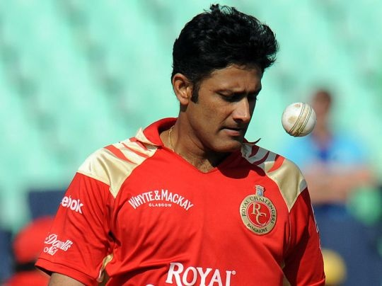 Anil Kumble Quits Royal Challengers, Joins Mumbai Indians