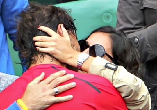 Rafael Nadal and Maria Francisca Perello