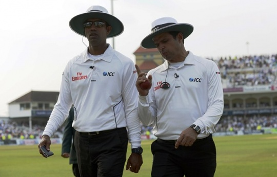 ICC Open to Use of Non-Neutral Umpires