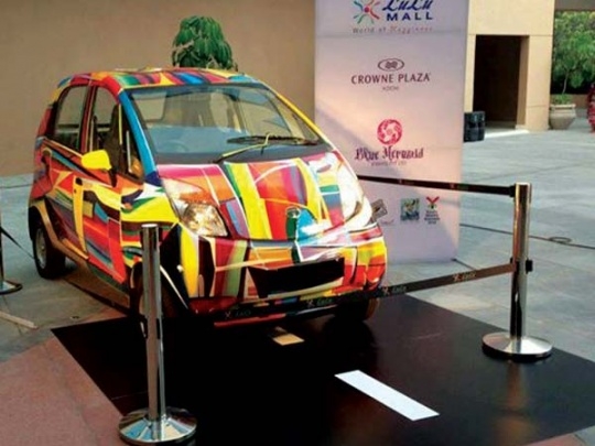 Auction Alert: India's First Art Car on Sale