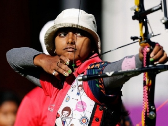 Deepika Shoots Gold in Archery World Cup