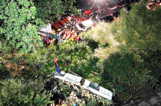 36 Dead in Italy Bus Crash