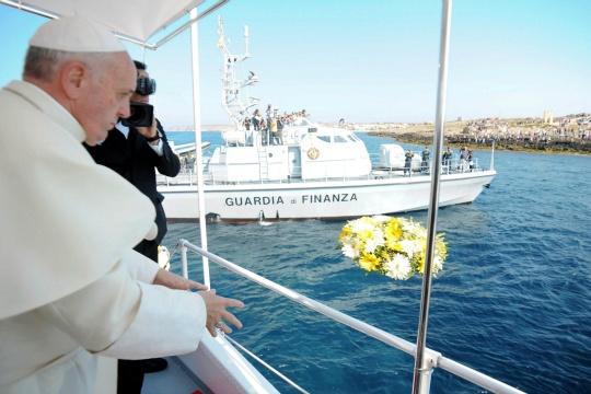 Pope Island: A Mediterranean Migration Hub