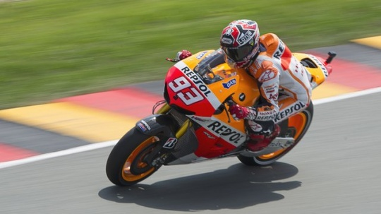 Marquez on Pole at German Grand Prix