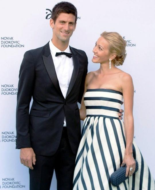 Jelena Helped Djokovic Overcome Defeat Trauma