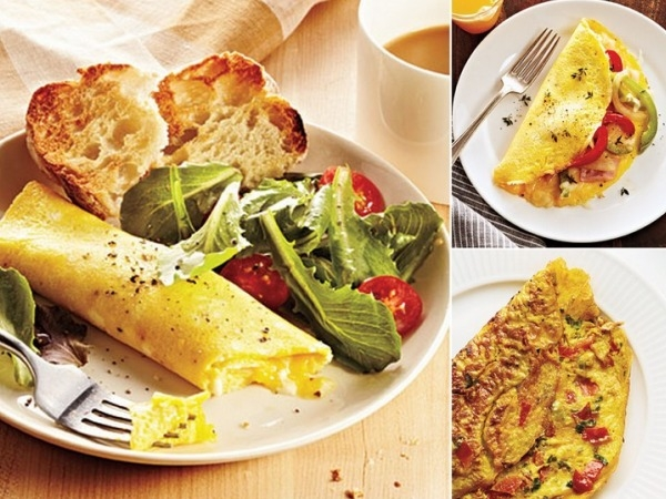 Healthy Breakfast Recipe: How to Make the Perfect Healthy Omelette