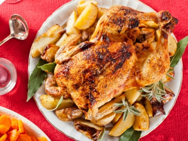 Bodybuilding Recipe: Mustard Roasted Chicken
