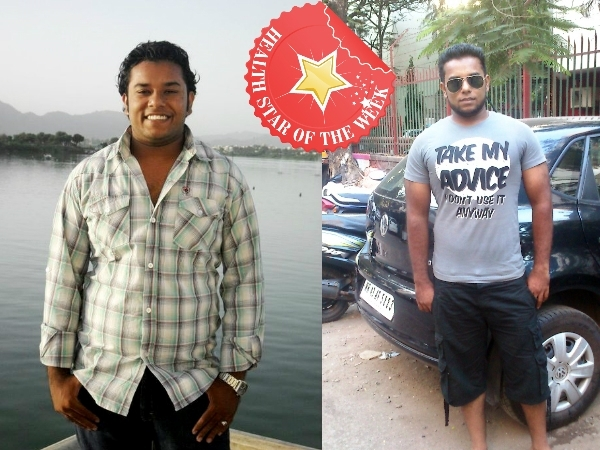 Health Star Of The Week: Naved Shaikh's Mantra For Weight Loss