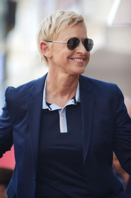 Ellen DeGeneres- TV host, comedian