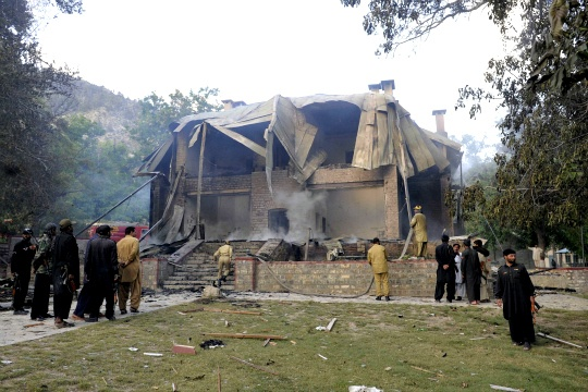 Militants Destroy Jinnah's Historic Residence in Pakistan