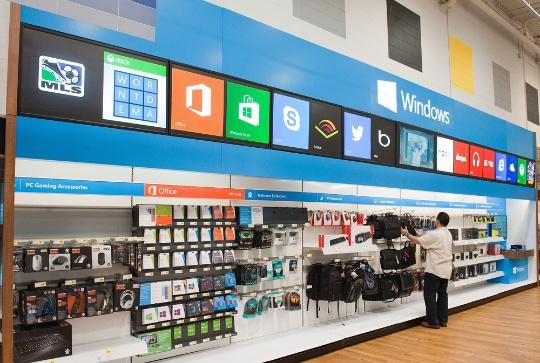 Microsoft's Mini-Shops in Best Buy Stores