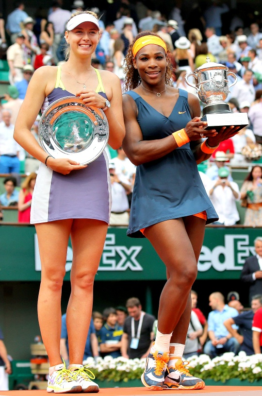 Serena Beats Maria to Win French Open