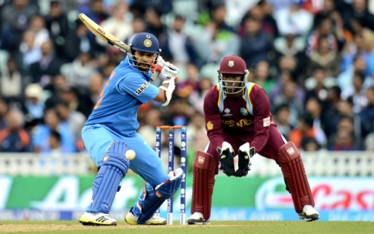 Dhawan, Jadeja Take India to Semifinals