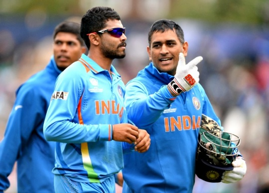 Dhoni & Co. Firm Contenders for CT Title