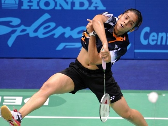 Saina Eyes Swiss Open Hat-Trick