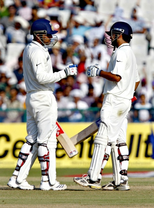 117 against England (Ahmedabad, 2012)