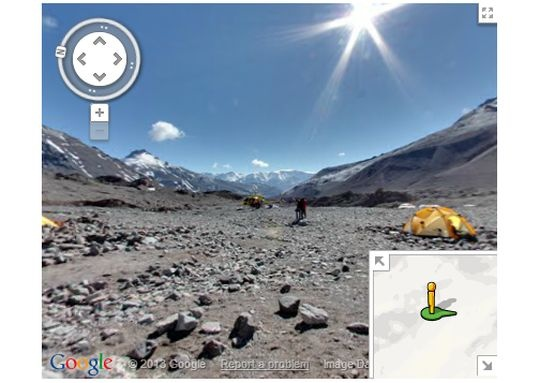 Google Maps Brings you Images from Mount Everest - Indiatimes.com on google maps himalayas, google maps arc de triomphe, google maps mount ararat, google maps oak island, google maps empire state building, google maps mount olympus, google maps volcano, google maps indus river, google maps christmas, google maps patagonia, google maps chichen itza, google maps loch ness monster, google maps finland, google maps aurora, google maps caspian sea, google maps kilimanjaro, google maps rocky mountains, google maps great barrier reef, google maps lake baikal, google maps eiffel tower,