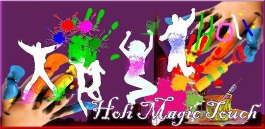 Holi magic touch