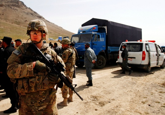 Five NATO Troops Die in Afghan Chopper Crash