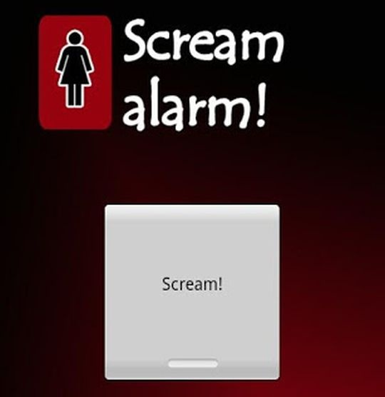 scream alarm