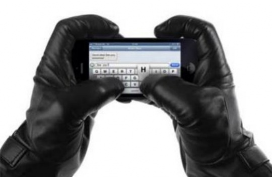 glove to 'air-write' your texts and emails