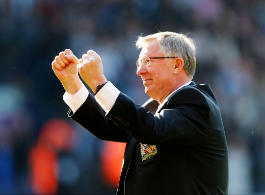 Sir Alex Ferguson Wins Manager of Year Award