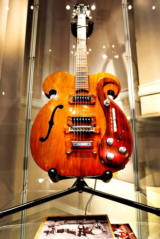 Beatles' Guitar Fetches $400K in Auction