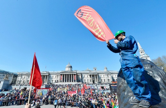 Europe Protests Austerity on May Day