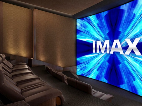 Imax Offers a Private Home Theatre System