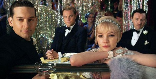 Leo, Tobey Together in 'Gatsby'
