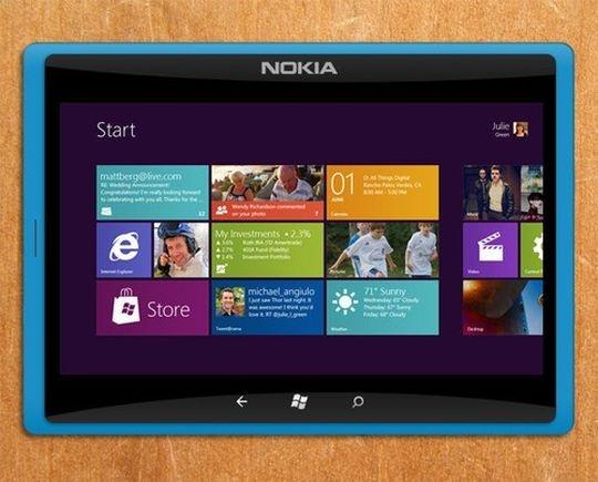 Nokia Lumia Tablet