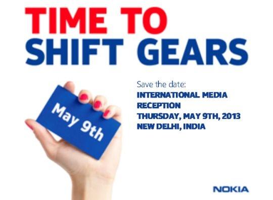 Nokia press invite new delhi
