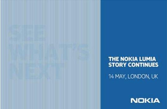Nokia press invite