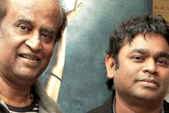 Rajinikanth Sings His First Hindi Song for Rahman